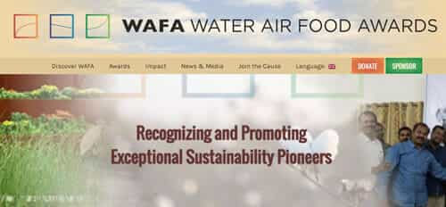 THE HUMANITARIAN WATER AND FOOD AWARD